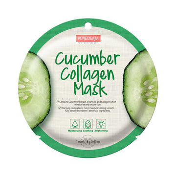 COLLAGEN CUCUMBER CIRCLE MASK