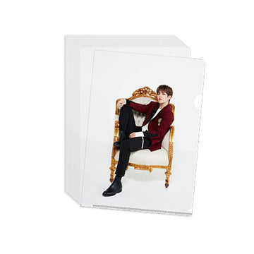 [SEVENTEEN] Clear File (WHITE)