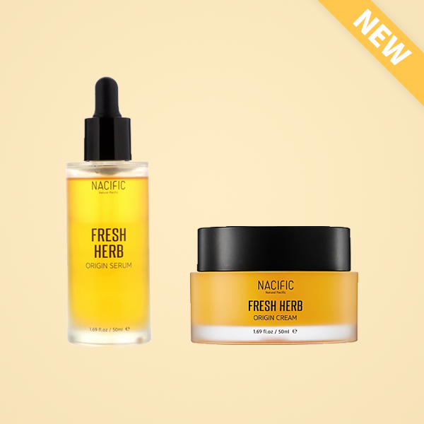 [Fresh Herb Origin Duo] Serum + Cream