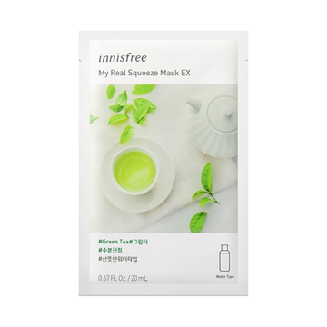 INNISFREE My Real Squeeze Mask EX -Green Tea