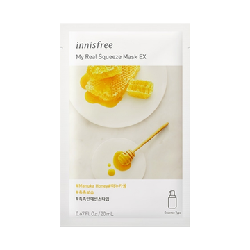 INNISFREE My Real Squeeze Mask EX -Manuka Honey
