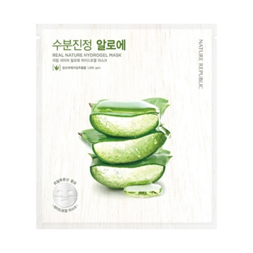 NATURE REPUBLIC Real Nature Hydrogel Mask -Aloe