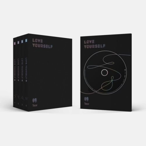 [BTS] LOVE YOURSELF 轉 'TEAR' (Photobook + Minibook + Photocard + Standing Photo) (Cover Random)