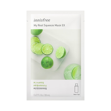INNISFREE My Real Squeeze Mask EX -Lime