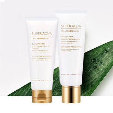 MISSHA Super Aqua Cell Renew Snail Set