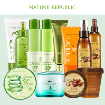 All About NATURE REPUBLIC Set
