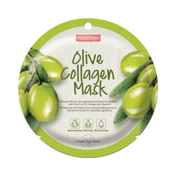 COLLAGEN OLIVE CIRCLE MASK