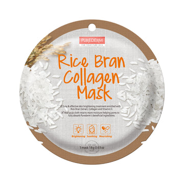 COLLAGEN RICE BRAN CIRCLE MASK
