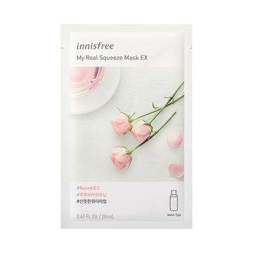 INNISFREE My Real Squeeze Mask EX -Rose