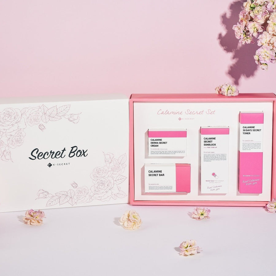 CALAMINE SECRET SET (Pink Solution)