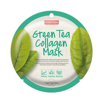 COLLAGEN GREEN TEA CIRCLE MASK