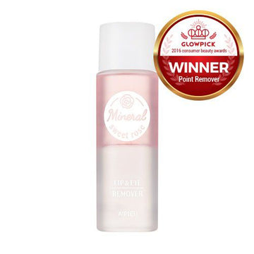 A'PIEU MINERAL LIP & EYE MAKE-UP REMOVER 100ml #SWEET ROSE