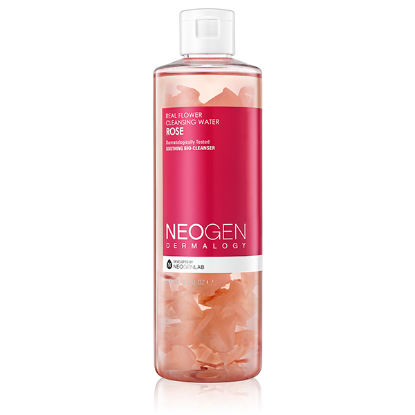 REAL FLOWER CLEANSING WATER - ROSE