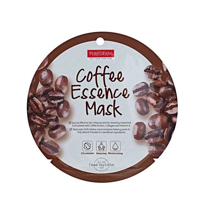 COLLAGEN COFFEE CIRCLE MASK