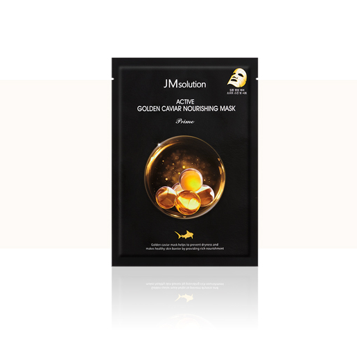 JM SOLUTION Active Golden Caviar Nourishing Mask (1 Sheet)