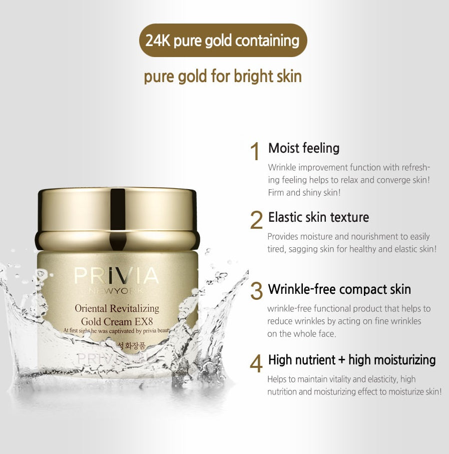 PRIVIA Oriental Revitalizing Gold Cream EX8