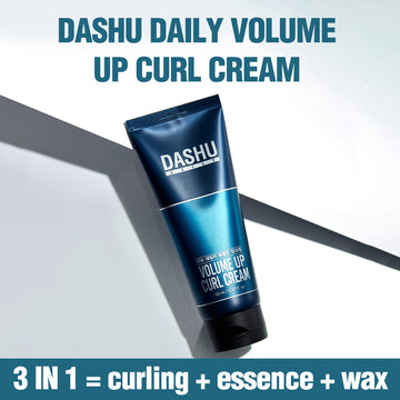 DASHU Daily Volume Up Curl Cream