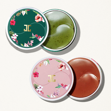 JAYJUN Green Tea Eye Gel Patch + Roselle Tea Eye Gel Patch Set