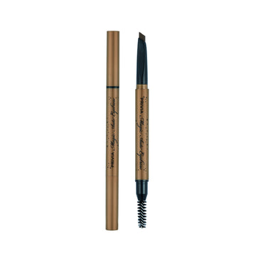PRIVIA Triangle Magic Auto Eyebrow (Dark Brown)