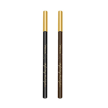 PRIVIA Perfect Deep Wood Eyeliner (Black / Dark Brown)