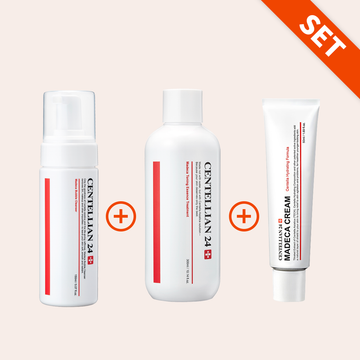 CENTELLIAN24 Madeca Cleanser + Toner + Cream