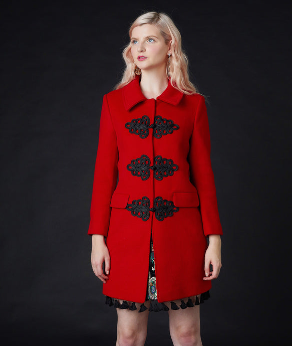 Windsor Ming Coat Red