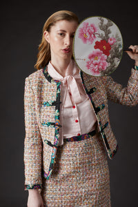 Chelsea Tang Tweed Jacket Multi