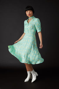 Lily Tea Dress Green