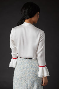 Summer Palace Ruffle Blouse