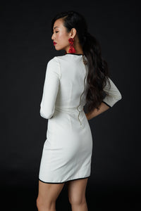Regency Dress White