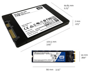 Ssd Western Digital 500Gb M.2 Blue Wds500G1B0B