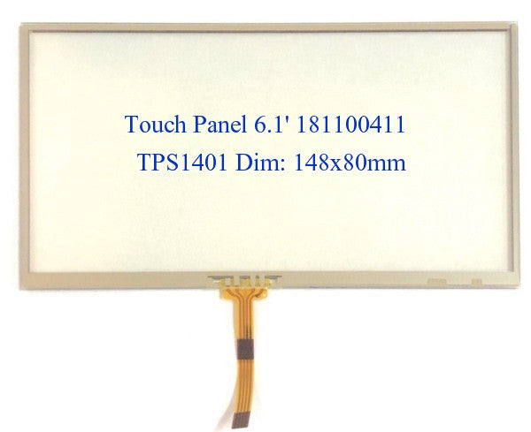 "Car Audio CD/DVD Touch Panel 6.1"" 148x80mm TPS1401 181100411 Sony"