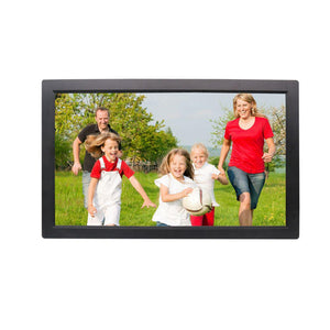 "Digital Photo Frame 22"" With Hdmi Black Wide (1920X1080) 2204Hw 6Months Warranty"
