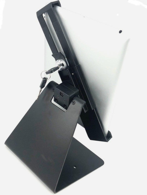 "Table Mount Universal Tablet Stand / Holder with Keylock 24012QF suitable for 7-10.1"" Screen"
