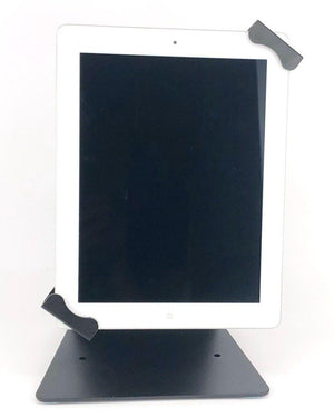 "Table Mount Universal Tablet Stand / Holder with Keylock 24012QPF suitable for 9.7-12.9"" Screen"