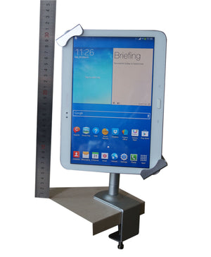 Table Clamp Tablet Stand / Holder Universal with Keylock 7-12.9""