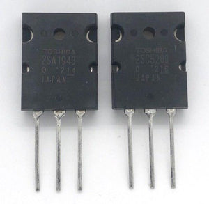 Audio Power Amplifier Transistor 2SA1943 / 2SC5200 Pair / Toshiba