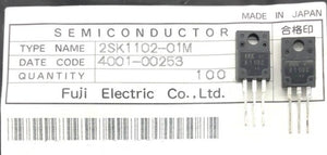 High Speed Power Switching Transistor 2SK1102-01MR TO220-3P Fuji Elect