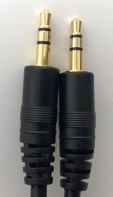 Audio Stereo Cable  3.5 to 3.5mm M/M 3Meter (Male/Male)