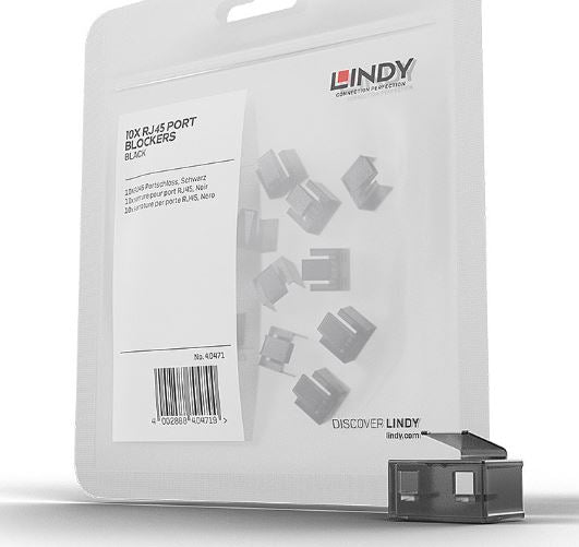 Lindy RJ45 Blocker - Pack of 20x (without Key)