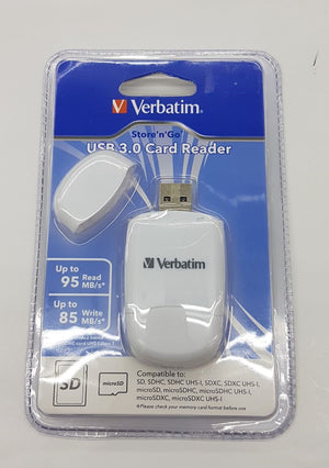 Verbatim Card Reader Usb3.0 White #64822