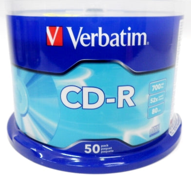 Verbatim CD-R 50Pcs Spindle 52X 700Mb #94691