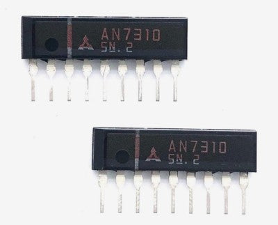 Audio Amplifier IC AN7310 Sip9  Matsushita for General Audio