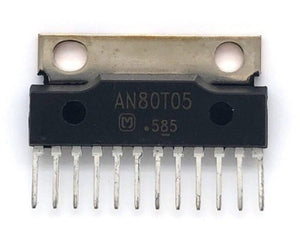 Car Audio Regulator IC AN80T05 Sil12 Matsushita