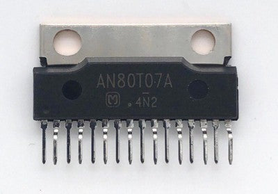 Car Audio Regulator IC AN80T07A Sip16 Matsushita