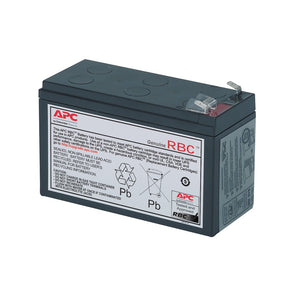 APC Replacement Battery for BK650AS,BK650EI, BX800CI, BX800CI-MS, BX1100LI-MS (Model: RBC17)
