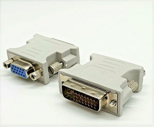 Adaptor DVI Male 24+5 to HD15 Female