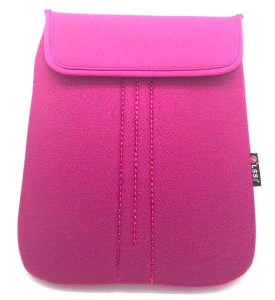 "9.7"" Notebook / Laptop Polyester Bag Pink / Velcro"