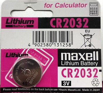 Maxell Lithium 3v Battery CR2032