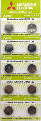 Mitsubishi Alkaline Button Cell Battery LR1130 1.5V
